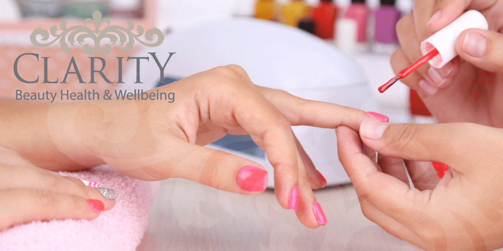 Manicure in Dunfermline at Clarity House