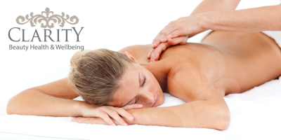 Monthly Massage Club in Dunfermline at Clarity House