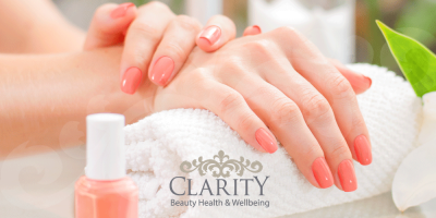 Luxury Manicure in Dunfermline at Clarity House