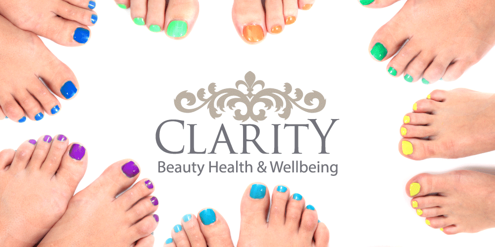 Pedicure File & Polish in Dunfermline at Clarity House