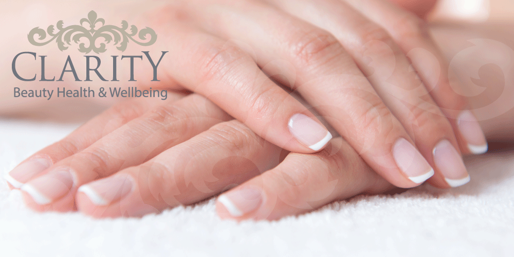 French Manicure in Dunfermline at Clarity House