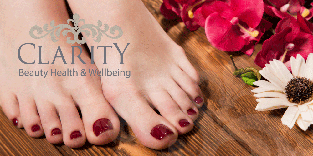 Luxury Pedicure in Dunfermline at Clarity House
