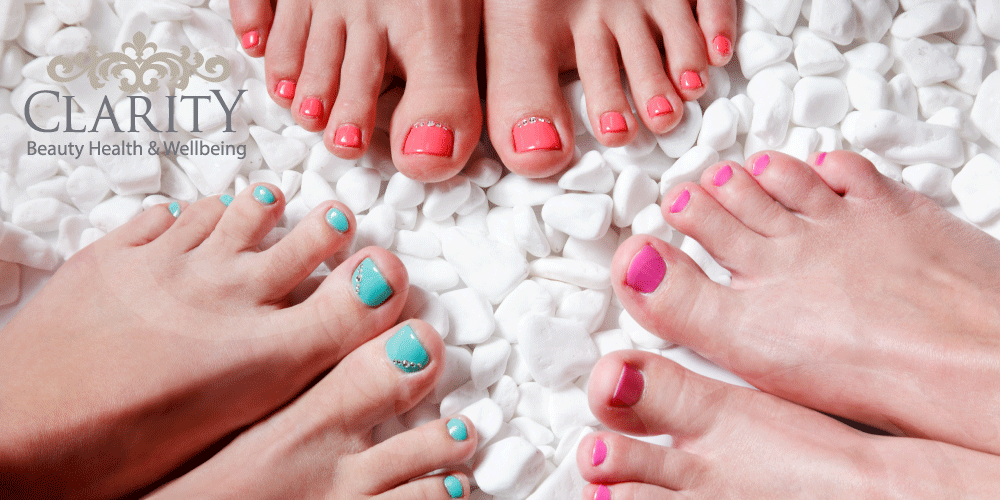 OPI Gel Pedicure in Dunfermline at Clarity House