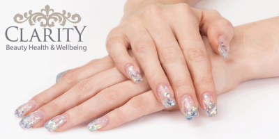 Glitter Nails Manicure in Dunfermline at Clarity House