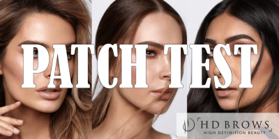 HD Brows Patch Test Dunfermline