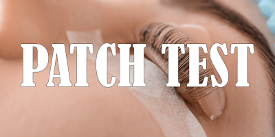 Lash Lift at Clarity House Dunfermline Patch Test