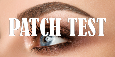 Brows and Lashes Patch Test Dunfermline at Clarity House