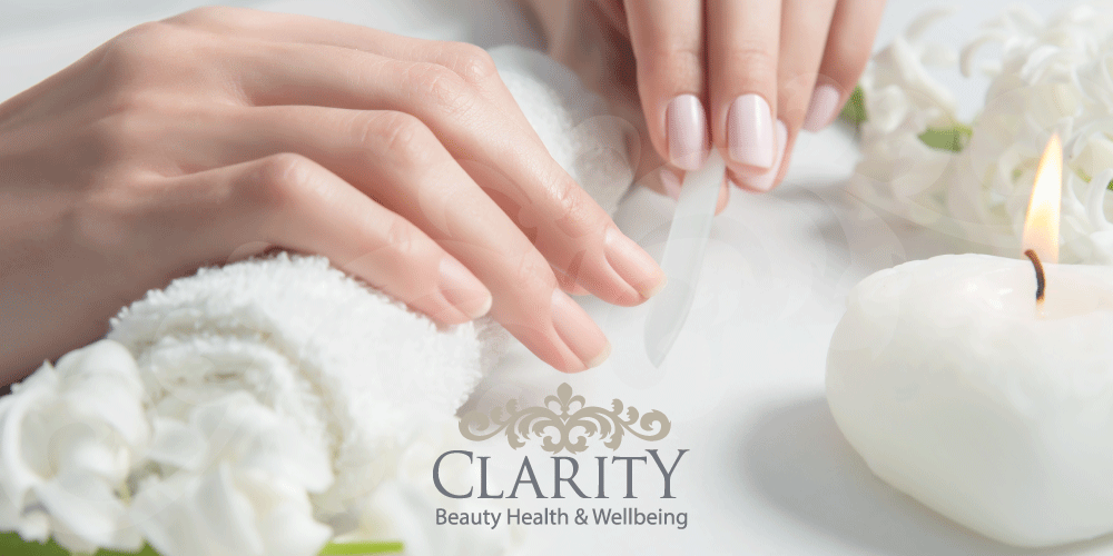 File and Polish Manicure in Dunfermline at Clarity House