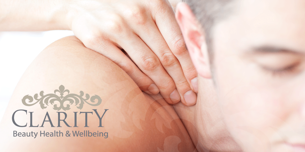 Back Neck and Shoulder Massage in Dunfermline at Clarity House