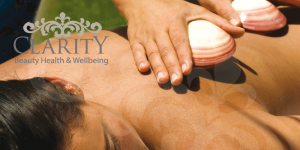 Hot Lava Shells Massage in Dunfermline at Clarity House