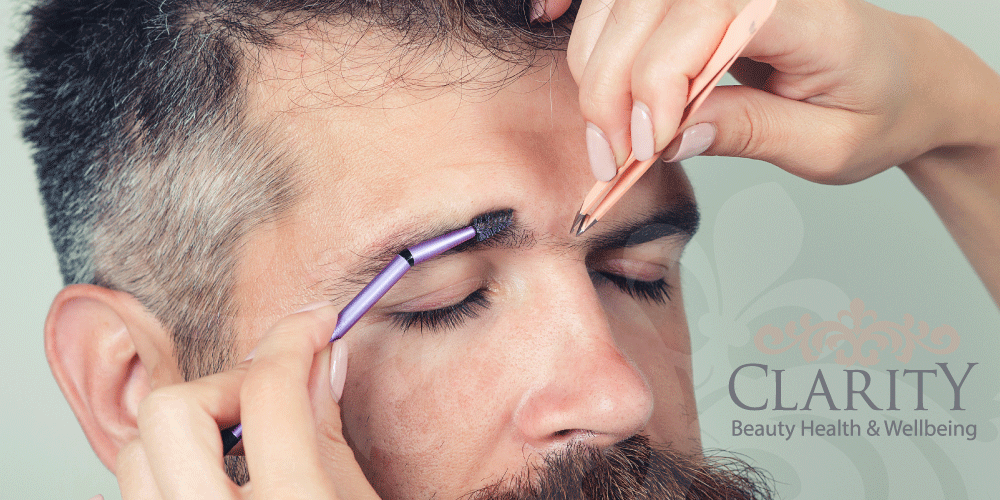 Mens Brow wax in Dunfermline at Clarity House