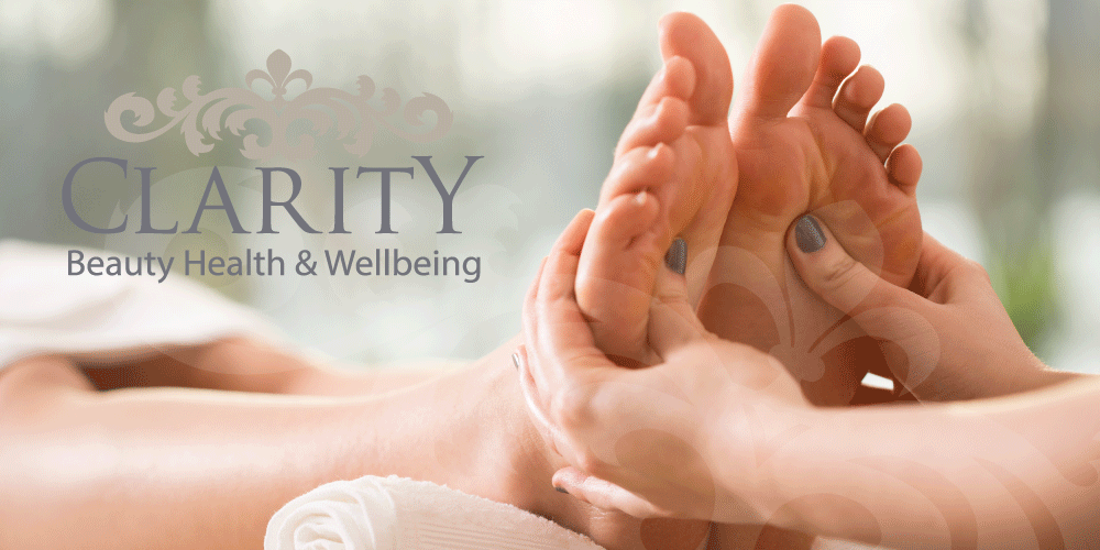Reflexology in Dunfermline at Clarity House