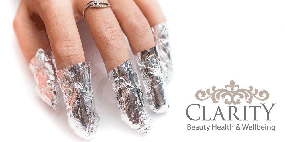 Nail Gel removals in Dunfermline at Clarity House