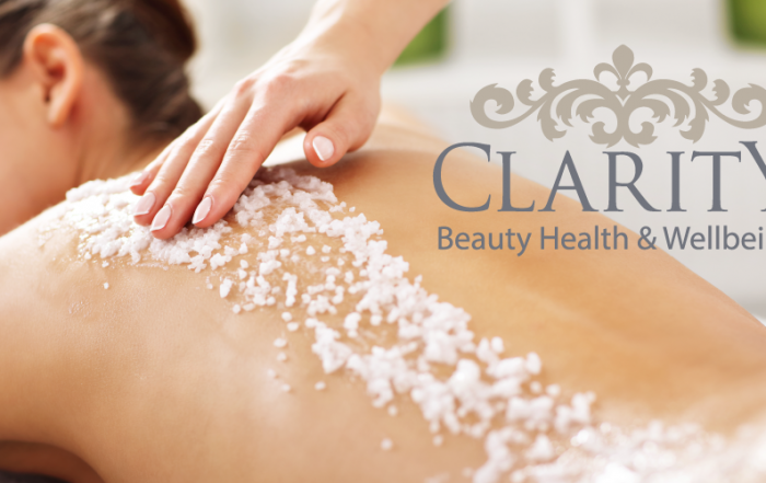Full Body Exfoliation in Dunfermline at Clarity house