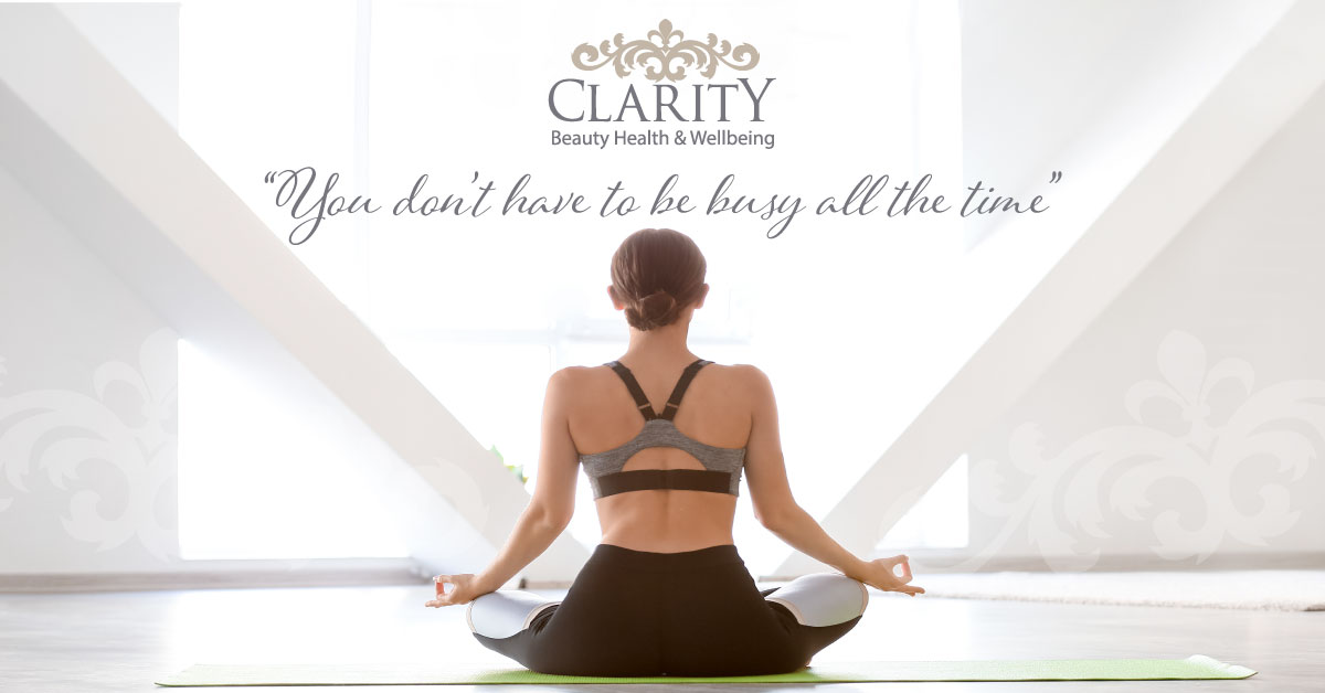 Stress Less at Clarity House Beauty Health and Wellbeing in Dunfermline
